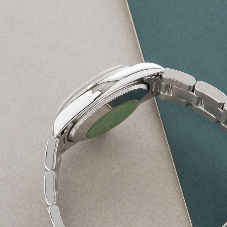 Women's Rolex Oyster Perpetual 31 77080 Ladies Stainless Steel 0 Watch
