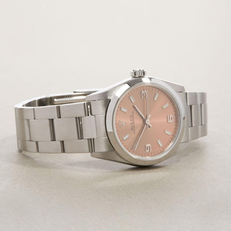 Rolex Oyster Perpetual 31 77080 Ladies Stainless Steel 0 Watch 1