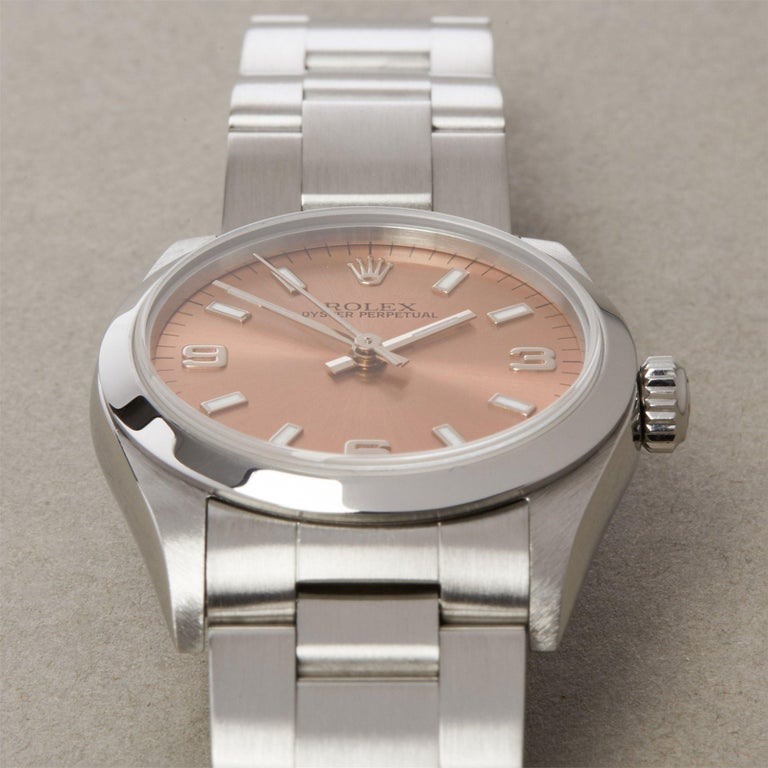 Rolex Oyster Perpetual 31 77080 Ladies Stainless Steel 0 Watch 4