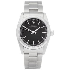 Rolex Oyster Perpetual 31 77080 Ladies Stainless Steel Watch