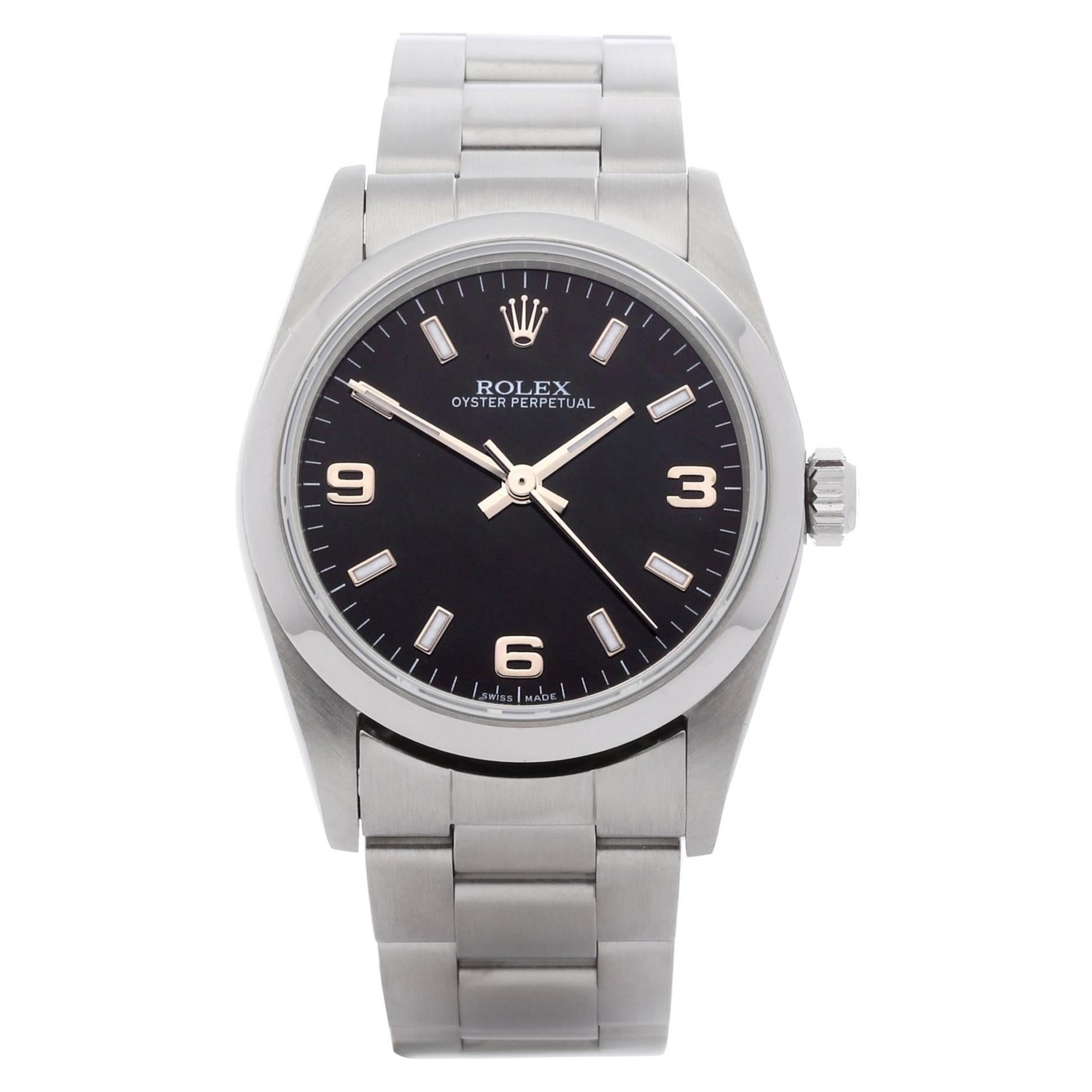 Rolex Oyster Perpetual 31 77080 Unisex Stainless Steel Watch