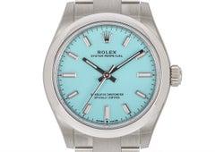 Rolex Oyster Perpetual 31 Tiffany Blue Dial 277200 Under Warranty