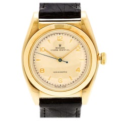 Rolex Oyster Perpetual 3131, Beige Dial, Certified and Warranty