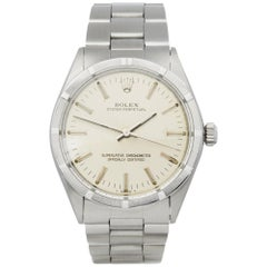 Rolex Oyster Perpetual 34 1007 Unisex Stainless Steel Watch