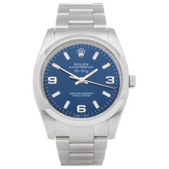 Rolex Oyster Perpetual 34 114200 Unisex Stainless Steel Watch