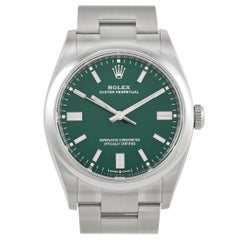 Rolex Oyster Perpetual 36 Automatic Green Dial Watch 126000GNSO
