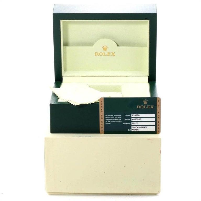 Rolex Oyster Perpetual 36 White Harley Dial Men's Watch 116000 Unworn 8
