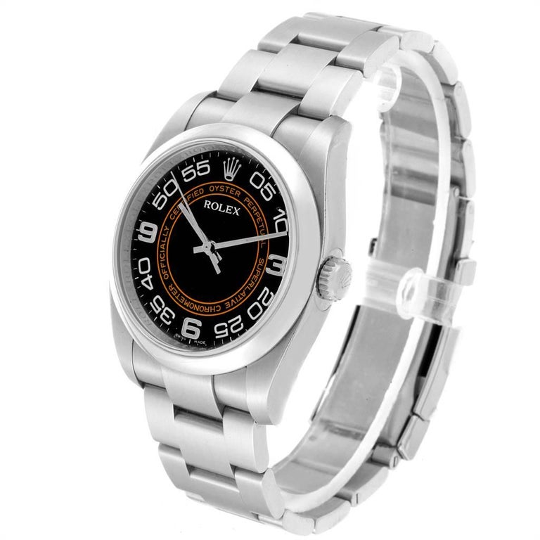 Rolex Oyster Perpetual 36 White Harley Dial Men's Watch 116000 Unworn 2