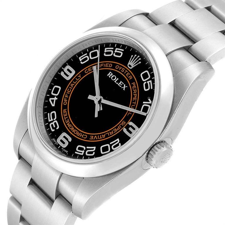 Rolex Oyster Perpetual 36 White Harley Dial Men's Watch 116000 Unworn 3