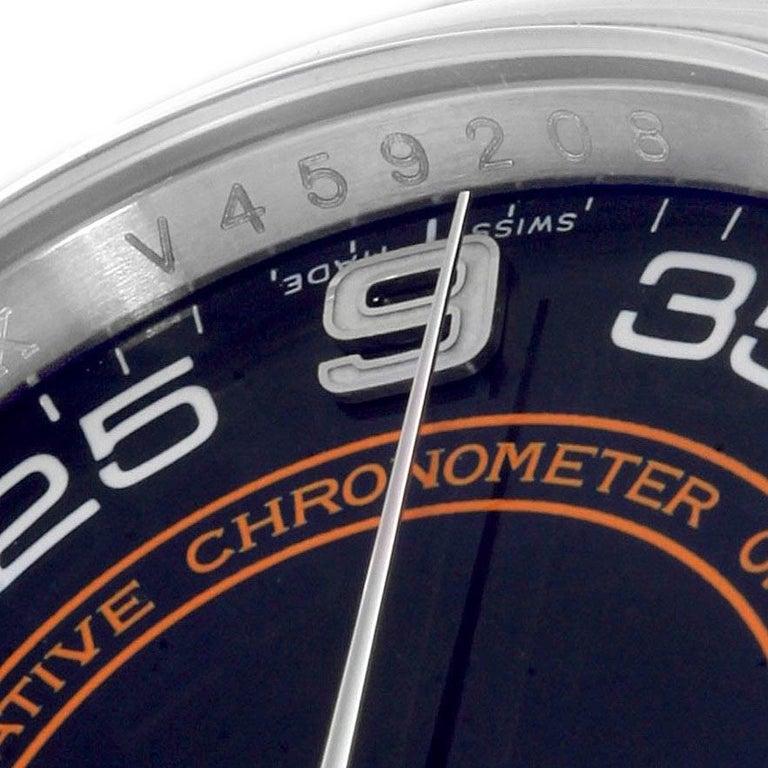 Rolex Oyster Perpetual 36 White Harley Dial Men's Watch 116000 Unworn 4