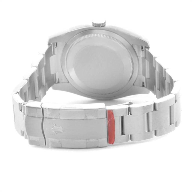 Rolex Oyster Perpetual 36 White Harley Dial Men's Watch 116000 Unworn 5