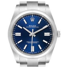 Rolex Oyster Perpetual Automatic Steel Men's Watch 124300 Box Card