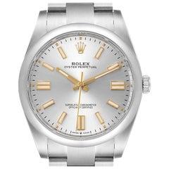 Rolex Oyster Perpetual Automatic Steel Men's Watch 124300 Unworn