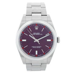 """Rolex Oyster Perpetual 39mm  """"Red Grape"""" Watch"""