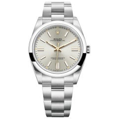 Rolex Oyster Perpetual 41 Silver Dial Men's Watch 124300-0001