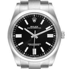 Rolex Oyster Perpetual Automatic Steel Mens Watch 124300 Unworn