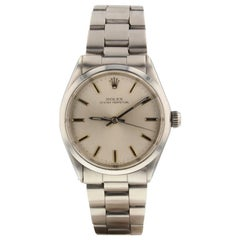 Rolex Oyster Perpetual 5552, Silver Dial, Certified and Warranty