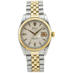 Rolex Oyster Perpetual 6305, Ivory Dial, Certified and Warranty