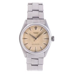 Rolex Oyster Perpetual 6480, Ivory Dial, Certified and Warranty
