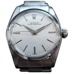 Rolex Oyster Perpetual 6548 All-Stainless Steel Automatic, circa 1958 LV745