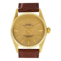 Rolex Oyster Perpetual 6551, Certified and Warranty