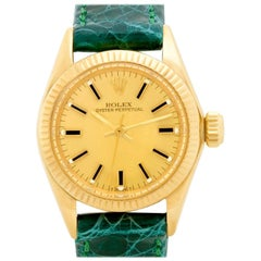Rolex Oyster Perpetual 6719, Certified and Warranty