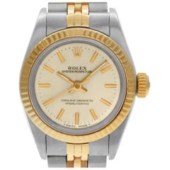 Rolex Oyster Perpetual 67193, Silver Dial, Certified and Warranty