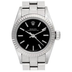 Rolex Oyster Perpetual 67194, Black Dial, Certified and Warranty