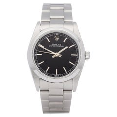 Rolex Oyster Perpetual 77080 Ladies Stainless Steel Watch