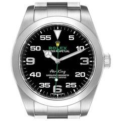 Rolex Oyster Perpetual Air King Black Dial Steel Mens Watch 116900 Unworn