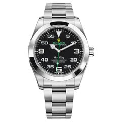 Rolex Oyster Perpetual Air King Men's Watch, 116900 Black