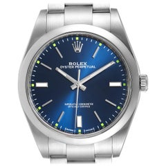 Rolex Oyster Perpetual Automatic Steel Men's Watch 114300 Box Card