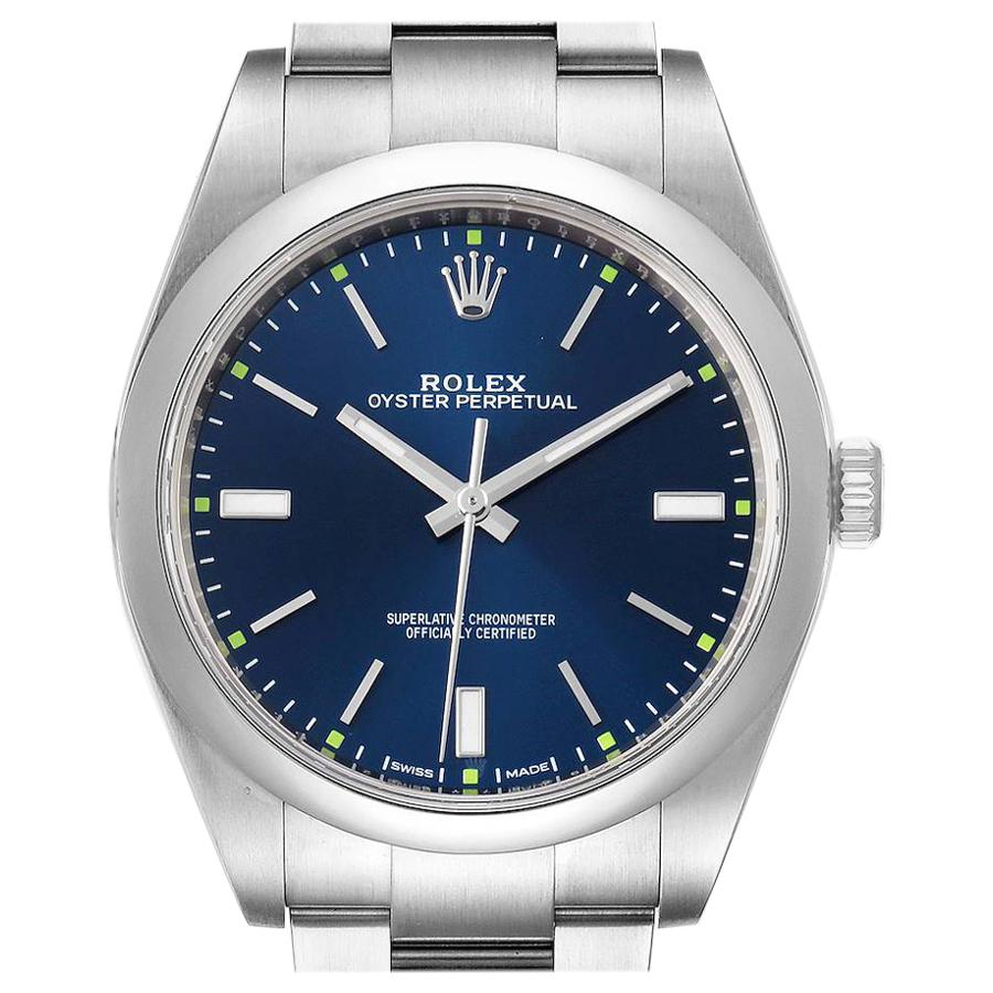 Rolex Oyster Perpetual Automatic Steel Men's Watch 114300