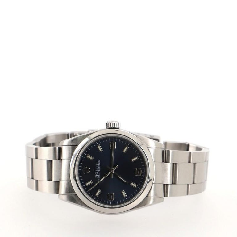 Women's Rolex Oyster Perpetual Automatic Watch Stainless Steel 31 For Sale