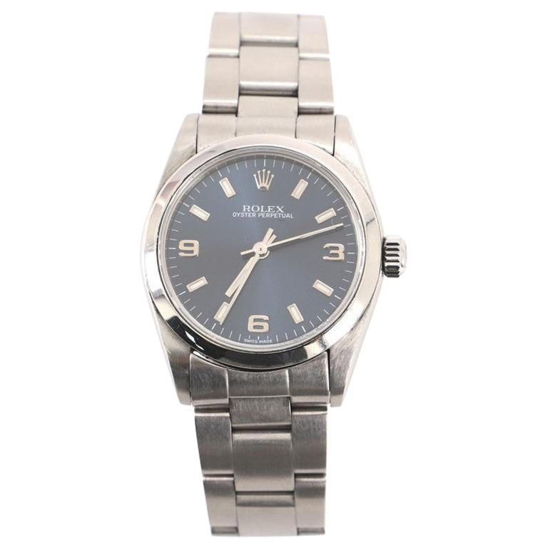 Rolex Oyster Perpetual Automatic Watch Stainless Steel 31 For Sale