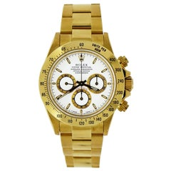 Rolex Oyster Perpetual Cosmograph Daytona in 18 Karat Yellow Gold
