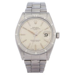 Rolex Oyster Perpetual Date 0 1501 Unisex Stainless Steel 0 Watch