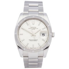 Rolex Oyster Perpetual Date 115210 Unisex Stainless Steel Watch