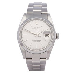 Rolex Oyster Perpetual Date 1500 Men's Stainless Steel Watch