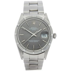 Rolex Oyster Perpetual Date 15010 Unisex Stainless Steel Watch