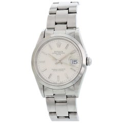 Rolex Oyster Perpetual Date 15200 Men's Watch Box Papers