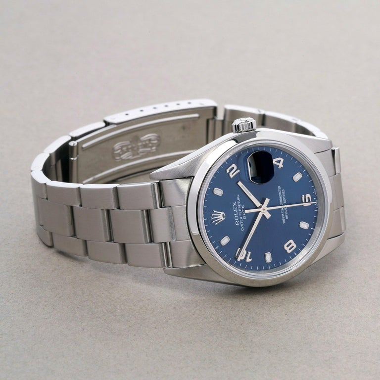Rolex Oyster Perpetual Date 15200 Unisex Stainless Steel Watch 2