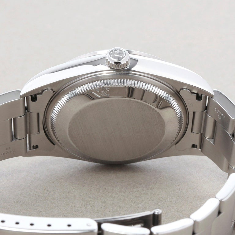Rolex Oyster Perpetual Date 15200 Unisex Stainless Steel Watch 3