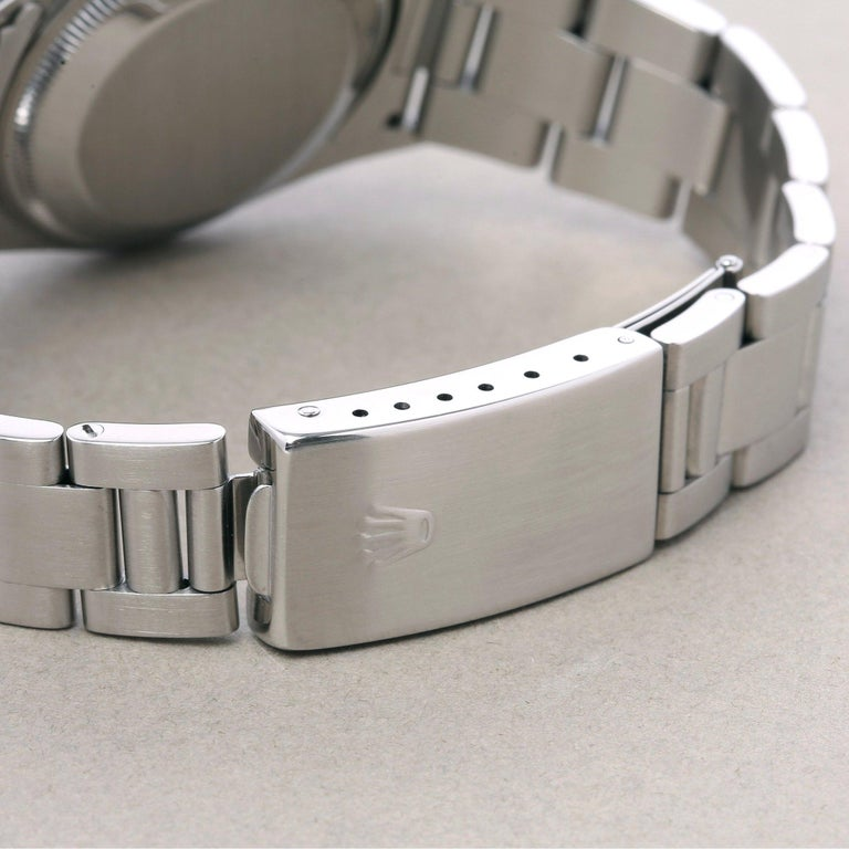 Rolex Oyster Perpetual Date 15200 Unisex Stainless Steel Watch 4