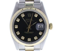 Rolex Oyster Perpetual Date 34 Black Dial Oyster Bracelet Automatic Watch