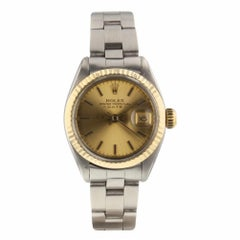 Rolex Oyster Perpetual Date Oyster Steel Automatic Ladies Watch 6917