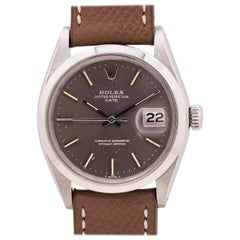 Rolex Oyster Perpetual Date Ref 1500 Grey Dial, circa 1969
