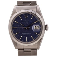 Rolex Oyster Perpetual Date Stainless Steel Ref 1500, circa 1967