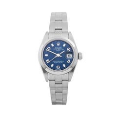 Rolex Oyster Perpetual Date Stainless Steel Women's 79160