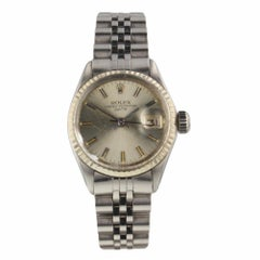 Rolex Oyster Perpetual Date Steel Automatic Ladies Jubilee Watch 6516